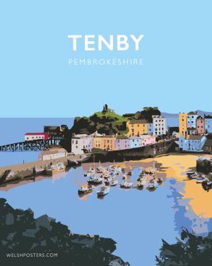 Tenby Poster (Pembrokeshire)