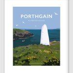 Porthgain Marker poster, Pembrokeshire