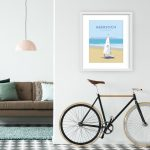 Abersoch sailing poster