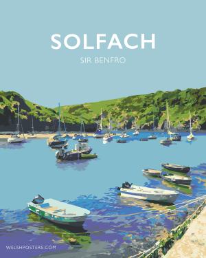 Solfach Poster, Sir Benfro Posteri Teithio