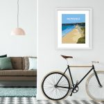 newgale beach welsh poster prints