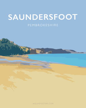Saundersfoot Posters and Prints