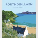 porth dinllaen ty coch welshposters art llyn peninsula wales framed poster