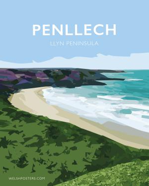 penllech llyn welsh poster