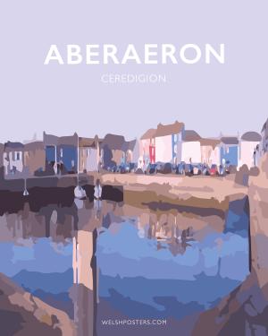 aberaeron poster ceredigion travel posters prints framed
