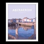 aberaeron poster ceredigion travel posters framed
