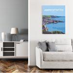 aberystwyth ceredigion travel art welsh posters