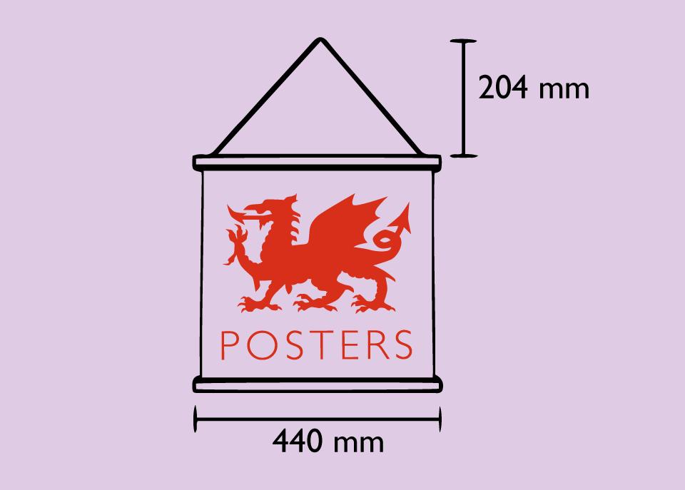 Magnetic poster frame welsh poster magnet hanger dimensions sizeshangers