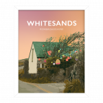Whitesands Beach Bay Pembrokeshire Buoy Tree Wales Poster Print West Seaside Welsh Posters Travel Bouy Tree